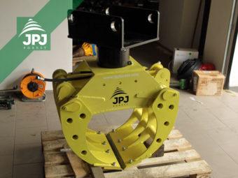 Rotator przemysłowy Baltrotors CPR 5 z chwytakiem na kamienie JPJ 0,26