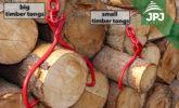 małe i duże szczypce do drewna